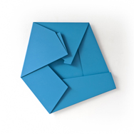 Large Blue Folded Flat 01 S-0737 2 thumb