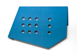Large Blue Folded Flat 02 S-0738 thumb
