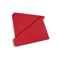 Large Red Folded Flat 08-1