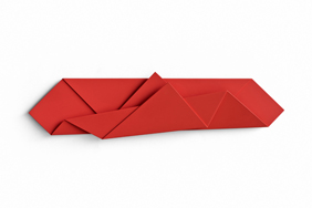 Red Folded Flat 01 thumb
