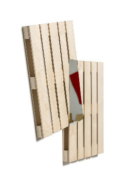 Mirror Wall Pallet 01 S-1148 sideview thumb